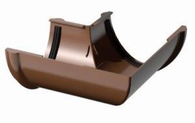 Поливент (ТН) угол желоба 135 гр., коричневый