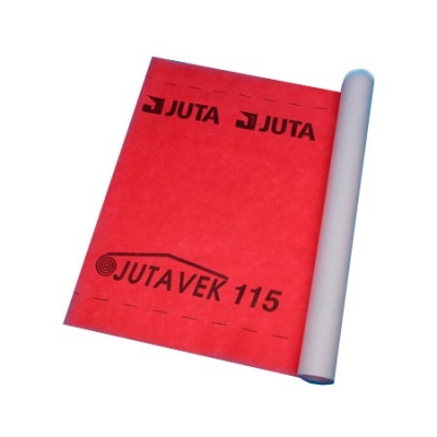 Строительная кровельная нетканая мембрана JUTAVEK 115, красный (50*1.5м)  Пр-во Чехия