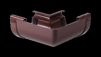 004 - Угол внутренний ф 130, 90 гр, коричневый, Польша