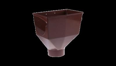 008- Горло желоба ф 130, коричневый, Польша