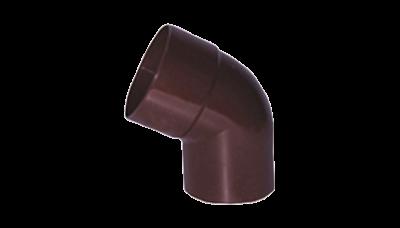 009 - Колено 100/60, коричневый, Польша