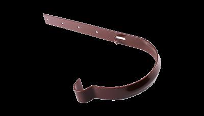 018- Держатель желоба метал.ф.130, коричневый, Польша