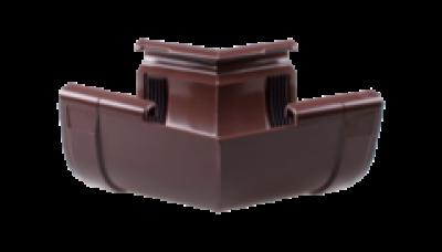 104 - Угол внутренний ф 90, 90 гр, коричневый Польша