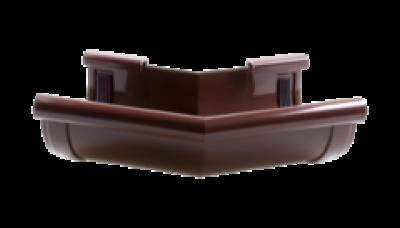 104/135 - Угол внутренний ф 90, 135 гр,коричневый , Польша