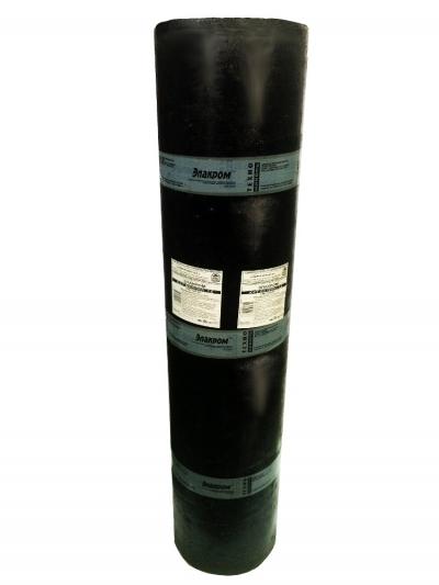 Материал рулонный гидроизоляционный Элакром ЭПП-3,0 (к-пх-бэ-пп/пп-3.0)
