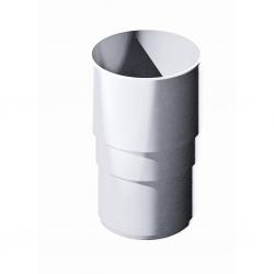 Поливент (ТН) муфта трубы, белый