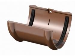 Поливент (ТН) соединитель желоба, коричневый
