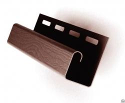 S-115 Планка J-TRIM (коричневый, 3,05)