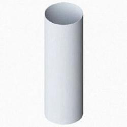 102/4- Труба водост. ф 75, дл. 4м, белый, Польша