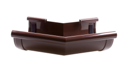 003/135 - Угол наружний ф 130, 135 гр, 003/135 гр,коричневый, Польша