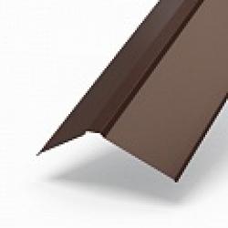 Планка конька плоского 190х190х2000 Norman (ПЭ-01-8017-0,5) РБ