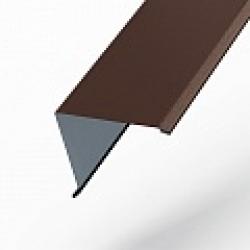 Планка торцевая 95х120х2000 Norman (ПЭ-01-8017-0,5) РБ