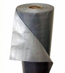 Пленка гидроизоляционная КРОВИЗОЛ Сильвер (Ткань ТПП-ЗЛ-УФ-К, пл-78, ш-152) - 75 м2, РБ