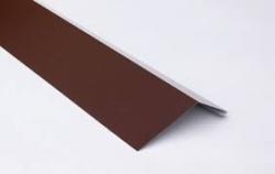 Лист плоский RAL 8017 п/э100*68*10 (Планка карнизная), РБ
