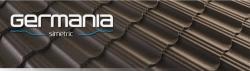 Металлочерепица Germania Simetric (30) 350 RAL 8017 МАТ ТК