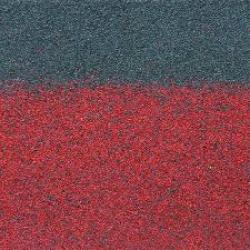 ТЕХНОНИКОЛЬ  Гибкая черепица коньково-карнизная, Красная микс  4К4Е21-0433RUS, РФ