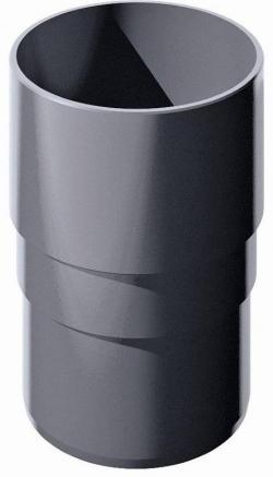 Муфта трубы ТН, серый