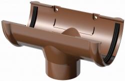 Поливент (ТН) воронка желоба, коричневый