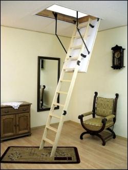 Чердачная лестница складная Termo 110х60