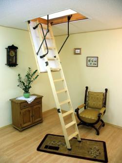 Чердачная лестница складная Termo 120х70