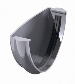 Заглушка желоба ТН, серый
